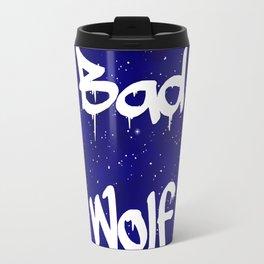 Bad Wolf Doctor Who Rose Tyler Travel Mug