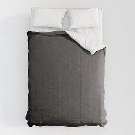 Black to gray underground urban camouflage Comforters