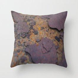 Rust on Rust rustic decor Throw Pillow