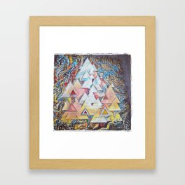 Ones and Twos Framed Art Print