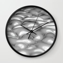 Milk Bubbles Wall Clock