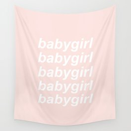 babygirl Wall Tapestry