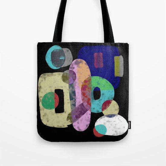 Abstract Pastel Art - Eclectic, pastel, abstract artwork Tote Bag