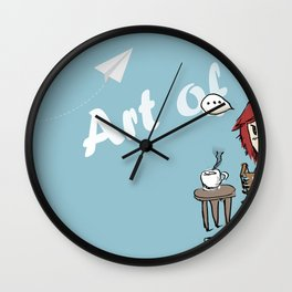 Art of life by Pockio Wall Clock
