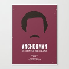 Dress The Part - Anchorman Canvas Print