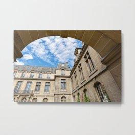 Paris Arch Metal Print