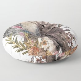 The Hare Floor Pillow
