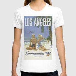 Vintage poster - Los Angeles T-shirt
