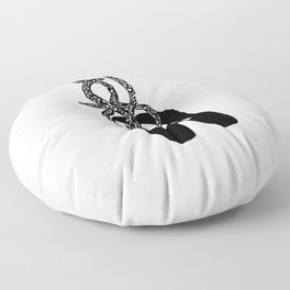 Twisted shoes Floor Pillow