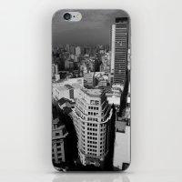 buildings iPhone & iPod Skins featuring Buildings by Roberta Vilas Boas