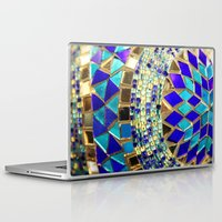 photograph Laptop & iPad Skins featuring mosaic and beads [photograph] by Sylvia Cook Photography