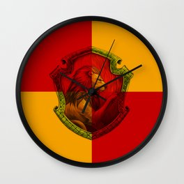 GRYFFINDOR Wall Clock