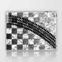 Flag Skid Mark Laptop & iPad Skin