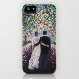 Path of love iPhone Case