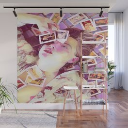 Leonardo Dicaprio x pink Wall Mural