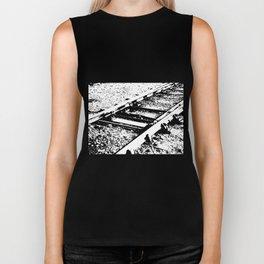 Railway Lines Biker Tank
