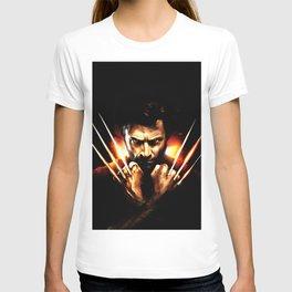 Hugh Jackman - Celebrity Art (Action Movie Art) T-shirt