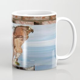 Professor Harvard on the Family painting by Jes Fuhrmann  Coffee Mug