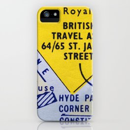 Streets of London 2 iPhone Case
