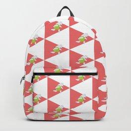 Running Polar Bear Triangle Backpack