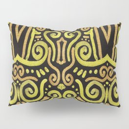 Golden Manipura 2 Pillow Sham