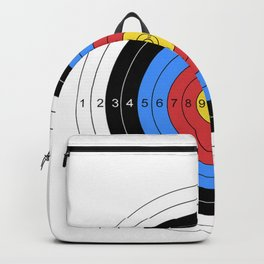 Archery and Gun Range Target Practice  Graphic Backpack