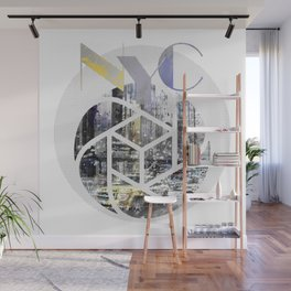 TRENDY DESIGN New York City | Geometric Mix No 4 Wall Mural