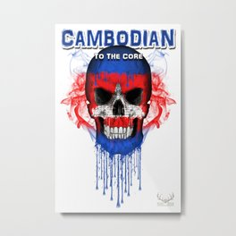 To The Core Collection: Cambodia Metal Print