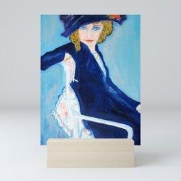 Leo Gestel - Woman with Cigarette - Vrouw met Sigaret Mini Art Print