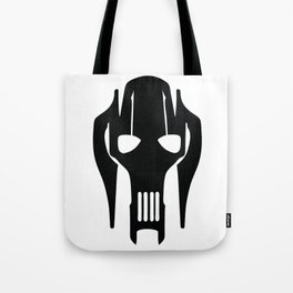 General Grievous Face Silhouette Tote Bag
