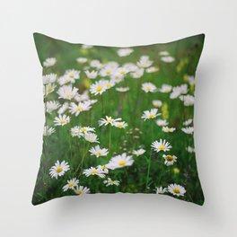 Сamomile Throw Pillow