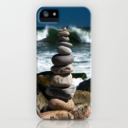 Parting the Waves iPhone Case