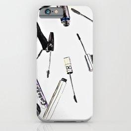 EyeLashes Mascara iPhone Case
