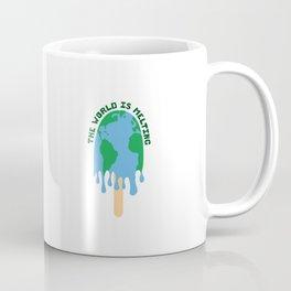 The World Is Melting Coffee Mug