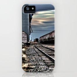 Harwood Grain Elevator iPhone Case