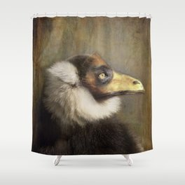 The Lemur in the Pierrot suit Shower Curtain