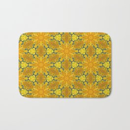 Yellow Sunflowers on a Sunny Day Bath Mat