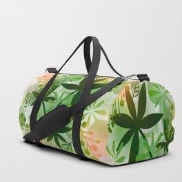 Peaches and Greens Duffle Bag