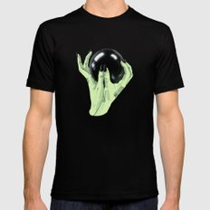 Crystallomancy Black SMALL Mens Fitted Tee