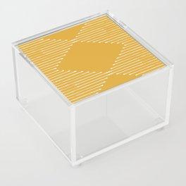 Geo / Yellow Acrylic Box