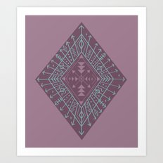 Gypsy Compass Art Print