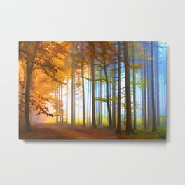 Ethereal Forest  Metal Print