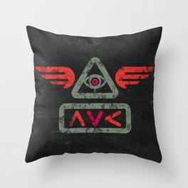 Ave Throw Pillow