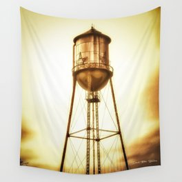 Texas Water Tower Wall Tapestry