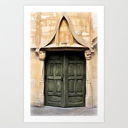 Muggle Fans and Wizard Entry Art Print