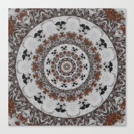 Stone Ridge Kaleidoscope Canvas Print