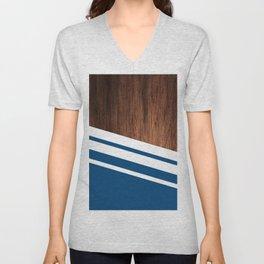 Wood of blue Unisex V-Neck