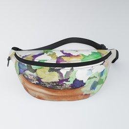 Pots of Petunias Fanny Pack