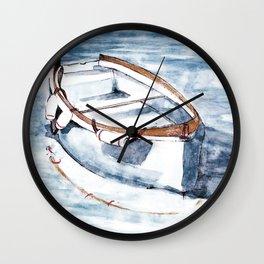 Summer boat Wall Clock