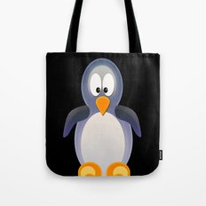 Penguin Grey Tote Bag